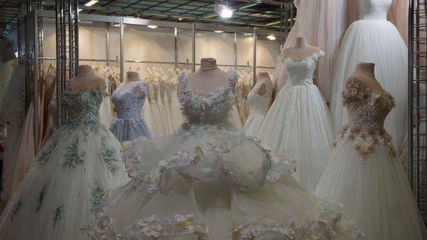 stoisko z targów ślubnych