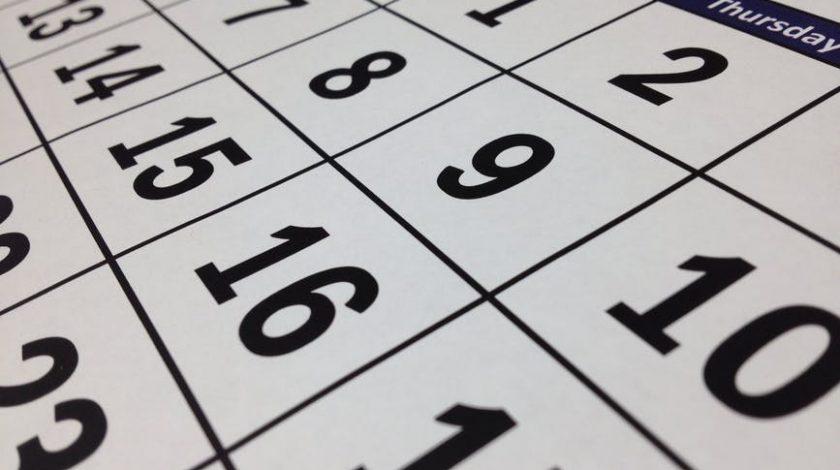 kalendarz rozkładany na rok 2018